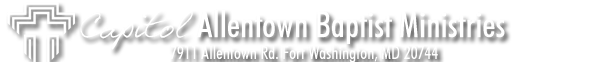 Capitol Allentown Baptist Ministries Banner